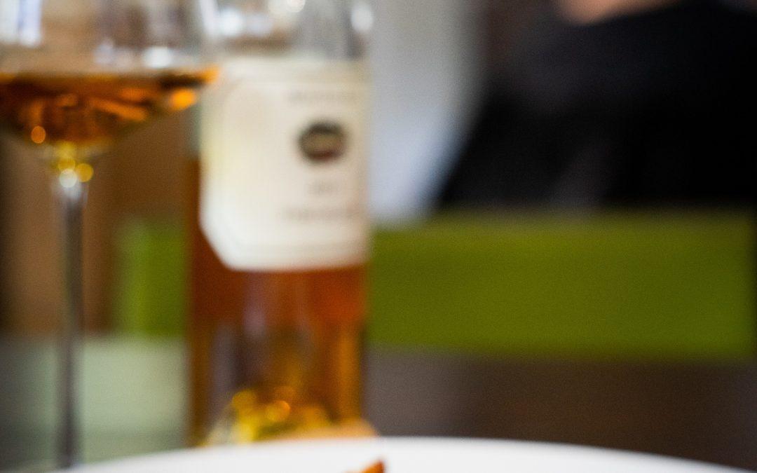 Petto di faraona con foie gras, topinambur, mandorle e gel al limone di Fabio Garlini